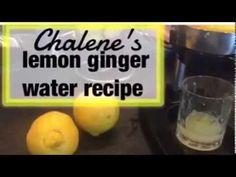 Lemon Ginger Water Recipe