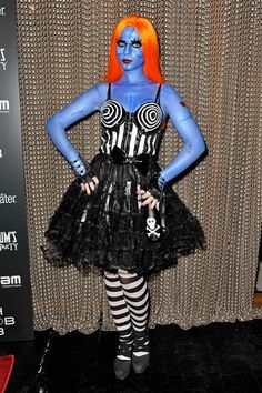 """Michelle Trachtenberg's Sally from """"The NightmAre Before Christmas"""" costume is the ultimate clever and creepy Halloween costume idea."""