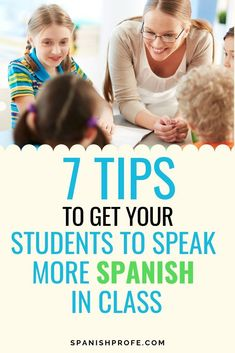 Seven tips and ideas on how to get your students to speak more Spanish in your Spanish immersion, bilingual or dual language class. Ideas that work with both elementary (Kindergarten, first, second) and that could be adapted to older students to increase Spanish Songs, How To Speak Spanish, Learn Spanish, Spanish Games, Spanish Vocabulary, Spanish 1, Middle School Spanish, Elementary Spanish, Spanish Teaching Resources