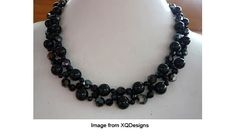 Beautiful Bnecklace with a free tutorial