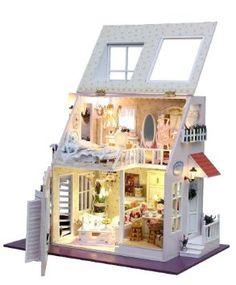Amazon.co.jp: ドールハウス 手作りキットセット ミニチュア 天使の恋: おもちゃ