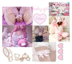"""💝💕🎀Little Space🎀💕💝"" by super-kawaii-zoe ❤ liked on Polyvore"