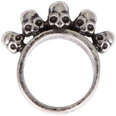 Gathering Eye 5 Skull Ring