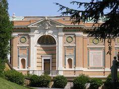 Pinacoteca Vaticana, exterior (southwest part) ◆Ciudad del Vaticano - Wikipedia http://es.wikipedia.org/wiki/Ciudad_del_Vaticano #Vatican