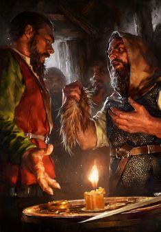 Dwarven Agitator The Witcher 3 Wild Hunt / Gwent Card.