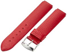 Philip Stein 1-ZR 18mm Leather Lizard Red Watch Strap ** To view further for this watch, visit the image link.