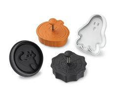 Halloween Cookie Cutters, Set of 4 #WilliamsSonoma