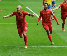 What a start against those pretenders from North London!!! #Skrtel #LFC