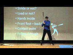 2013 NP Clinics - Hitting: Bottom up mechanics of the swing Penn High School, Baseball Hitting Drills, Baseball Videos, Softball Stuff, Clinic, Workouts, Coaching, Youtube, Training