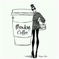Have you had your dose of coffee? #coffee #monday Illustration by @meganhess_official  via MARIE CLAIRE MALAYSIA MAGAZINE OFFICIAL INSTAGRAM - Celebrity  Fashion  Haute Couture  Advertising  Culture  Beauty  Editorial Photography  Magazine Covers  Supermodels  Runway Models