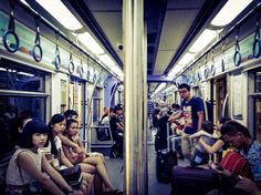 On the 廣州(Guangzhou) Metro - Y