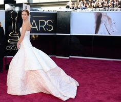 The Ultimate 2013 Oscar Gallery!: Charlize Theron on the red carpet at the Oscars 2013.: Nina Dobrev at Elton John's Oscar party.  : Jennifer Lawrence on the red carpet at the Oscars 2013.