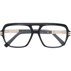 f0ec61d79b8ed Dsquared2 Eyewear aviator glasses ( 350) ❤ liked on Polyvore featuring  accessories