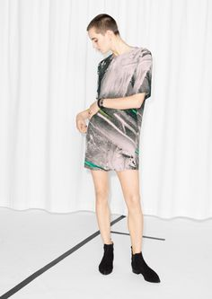& Other Stories | Neon Rock Dress