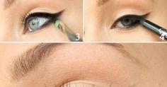 15 Easy Hacks For Perfect Eyeliner | Smokey Eyeliner, Eyeliner and Silver Glitter
