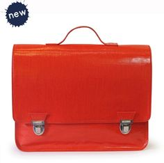 cartable coton gloss rouge MINISERI http://www.thelittlefactory.fr/cartable-coton-gloss-rouge-miniseri.htm