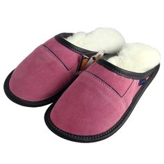 Women's Sheepskin Slip-On Slippers