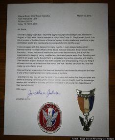 Sample Eagle Scout Congratulatory Letter Request