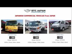STC Japan offers the best stock of Japanese Commercial Vehicles, Coasters, Hiaces, & Trucks directly from Japan. We have Toyota Coasters, T. All Japanese, Japanese Cars, Commercial Vehicle, Diesel, Coasters, Trucks, Vehicles, Diesel Fuel, Truck