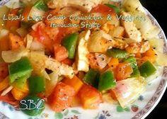 Lisa's Low Carb Chicken & Veggies Italian Style