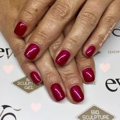 #ravinshingred #biosculpturegelnails on #naturalnails #amazingcolour #paphosnails #biosculpturebytheresa #kissonerganails