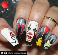 Halloween - Nails :: Click to Shop Online for Nails Products. More than 3k products Worldwide Shipping. We repost the best nail art artist here. Follow us if you need ideas