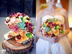 Real Wedding   Justin & Stephanie » Vo Floral Design