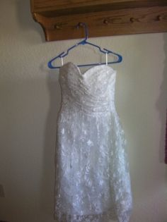 It's a nice day for a wedding! Shop new and gently used wedding dresses, decorations & more at up to off at Tradesy. Vintage Inspired Wedding Dresses, Used Wedding Dresses, Formal Dresses, Tea Length Wedding Dress, White Dress, Lace, Fashion, Dresses For Formal, Moda