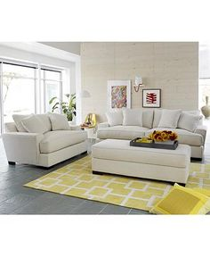 Living Room Sets Macy S ainsley fabric sofa with 4 toss pillows, created for macy's