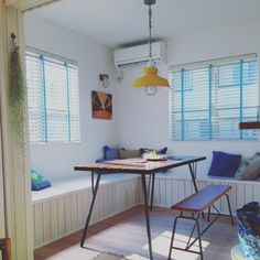 西海岸/照明/観葉植物/IKEA/カリフォルニアスタイル/サーファーズハウス…などのインテリア実例 - 2016-01-25 11:56:00 | RoomClip(ルームクリップ) Surf Style, New Room, Office Desk, Corner Desk, Dining Room, House Design, Interior Design, Space, Storage