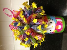 Hello Kitty Candy Bouquet. :)