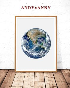 Earth Print Planet Prints Earth Photography Earth Wall Art | Etsy Earth Poster, Pink Wall Art, Moon Photography, Moon Print, Modern Prints, Minimalist Art, Botanical Prints, Printable Wall Art, Wall Prints