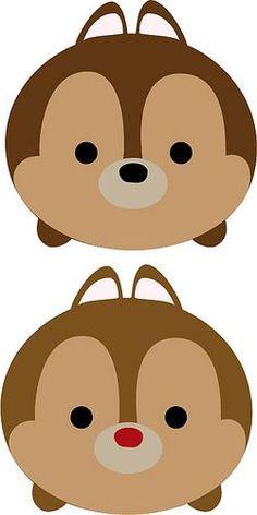 Free svg Chip and Dale Tsum Tsum Tsum Tsum Toys, Tsum Tsum Party, Disney Tsum Tsum, Felt Crafts, Diy And Crafts, Crafts For Kids, Disney Diy, Disney Crafts, Disney Drawings