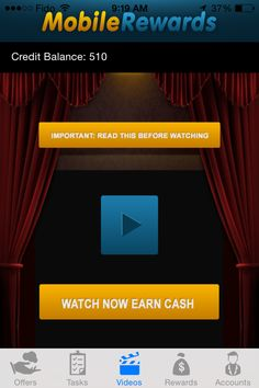 Hey,  Checkout this new app I found Called Mobile Rewards, it's awesome you make money by watching YouTube videos, signing up for free products and more! Click the Link below to Sign up.  http://mobile-rewards.net/frontend/signup.php?id=EKRNxbQEl1ims   Sasha Lee