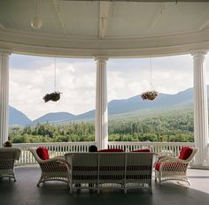 mount washington hotel porch On my bucket list to stay here someday while hiking!