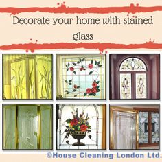 Decorate your home with stained glass