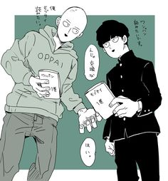 One-Punch Man x Mob Psycho 100, ONE Cross-over!