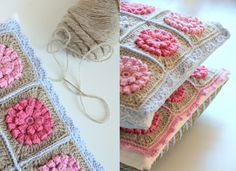 Crochet pretty via CreJJtion   LOVE that blog!  :)