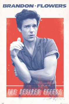 Brandon Flowers Desired Effect Posters sur AllPosters.fr