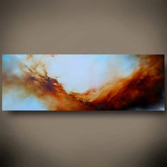 Large Canvas Abstract Oil Painting by by SimonkennysPaintings, £1600.00