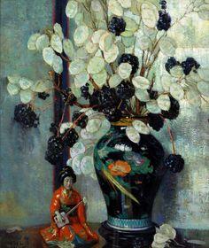 "Anna Lee Stacey, ""Still Life"", Oil on Panel, 1865-1943"