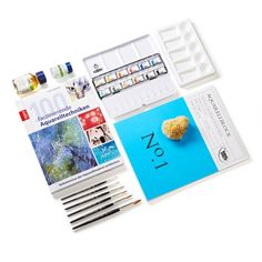 Pro-Box Aquarell-Malerei Polaroid Film, Watercolors, Hobbies, Painting Art, To Draw, Craft, Art