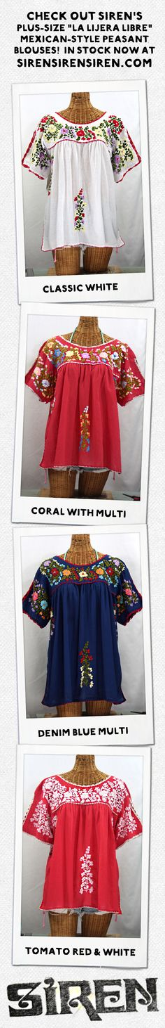 9066f973efd 34 Best Mexican style Peasant blouses images in 2019
