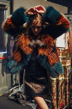 Just Cavalli AW15 Dazed Womenswear Milan Catwalk