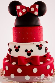 Birthday Cake Decorating Girls Minnie Mouse Ideas For 2019 Bolo Fake Minnie, Bolo Da Minnie Mouse, Minnie Mouse Birthday Cakes, Minnie Mouse Stickers, Minnie Mouse Baby Shower, Mickey Mouse Cake, Minnie Mouse Cake, Birthday Cake Girls, Birthday Parties