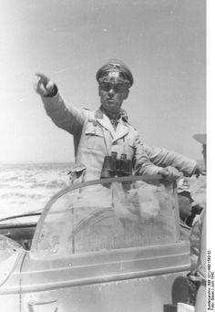 Generalfeldmarschall Erwin Rommell in North Africa. 1942