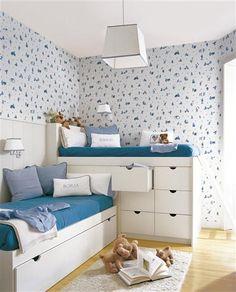 Idéias: Móveis planejados em quartos infantis! Para as meninas é só rocar a cor!