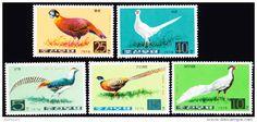 Stamps / Korea North birds - Delcampe.net