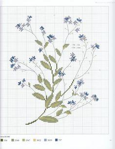 Gallery.ru / Фото #146 - Veronique Enginger. L'Herbier du jardin au point de croix - CrossStich