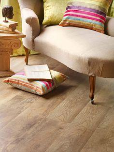 Country Oak 24842 - Wood Effect Luxury Vinyl Flooring - Moduleo